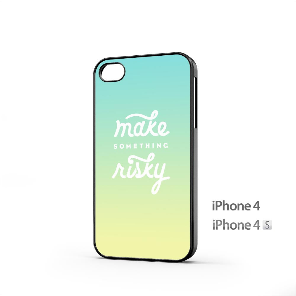 Make Something Risky iPhone 4 / 4s Case
