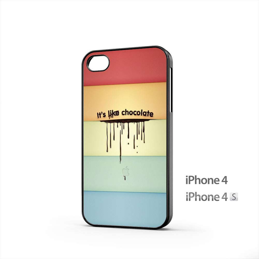 It s like Chocolate iPhone 4 / 4s Case