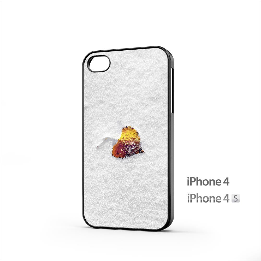 Leaf Winter Snow iPhone 4 / 4s Case