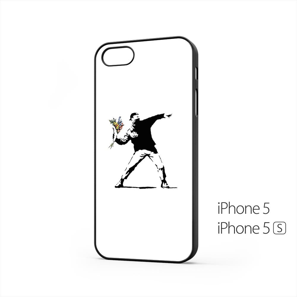Banksy Flower iPhone 5 / 5s Case