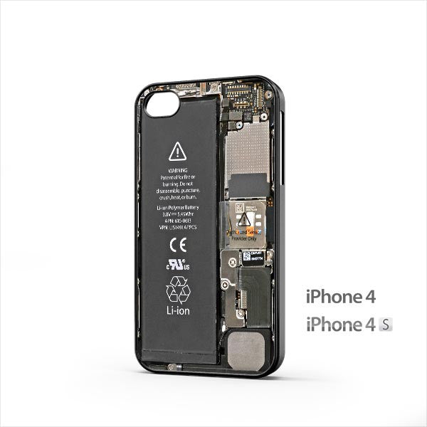 iPhone 5 Internals iPhone 4 / 4s Case