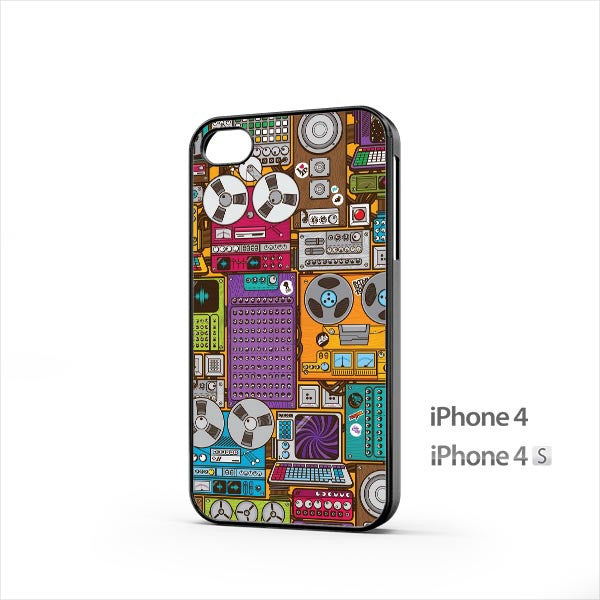 Magnetophones iPhone 4 / 4s Case
