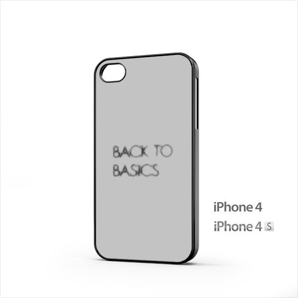 Back To Basics Subtle iPhone 4 / 4s Case
