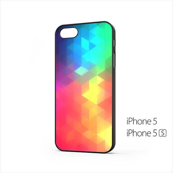 iOS8 Color Triflat iPhone 5 / 5s Case