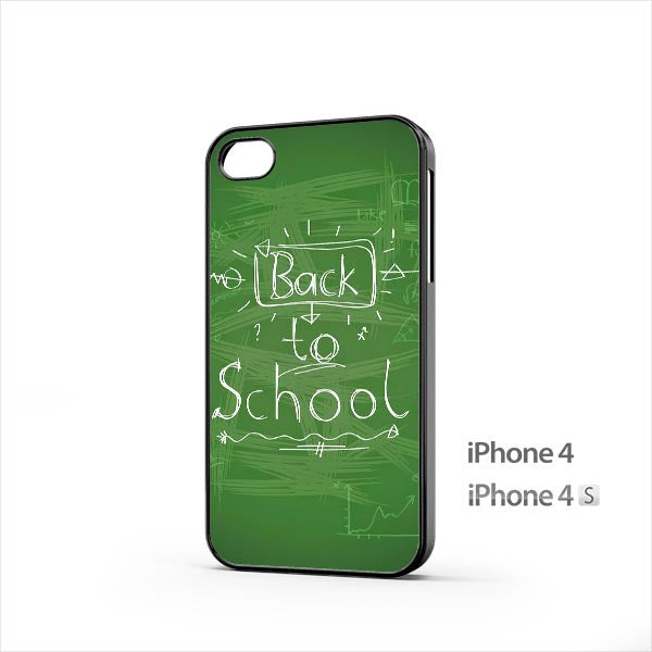 Back To School Handwriting iPhone 4 / 4s Case