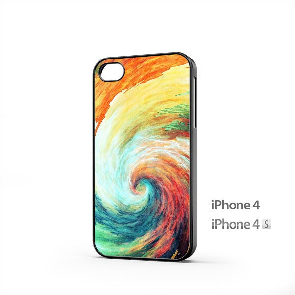 Big Wave Painting iPhone 4 / 4s Case