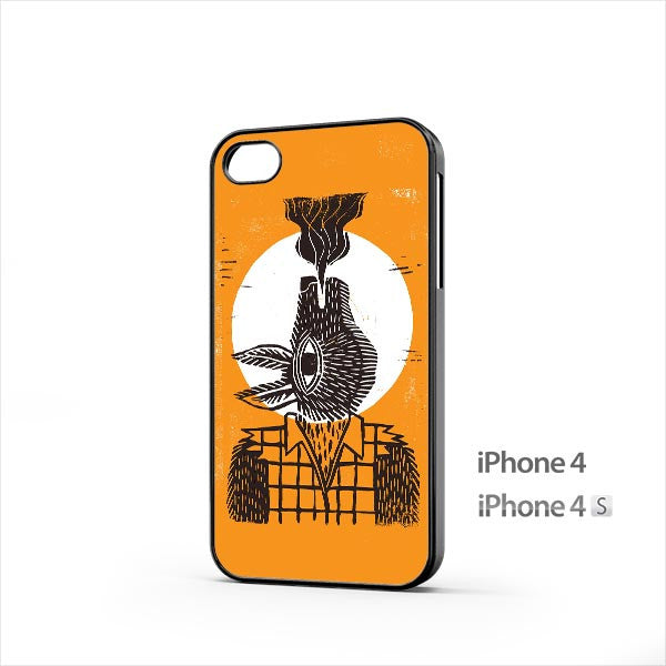 Dead Crow Illustration iPhone 4 / 4s Case