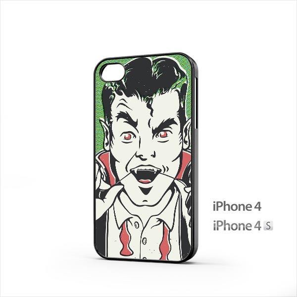 Dracula Halloween Popart iPhone 4 / 4s Case