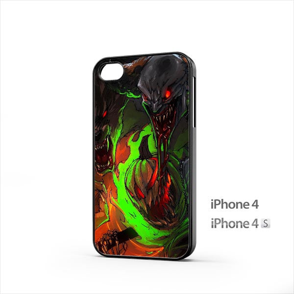 Halloween Clown Werewolf iPhone 4 / 4s Case