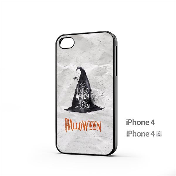 Halloween Witch Hat iPhone 4 / 4s Case