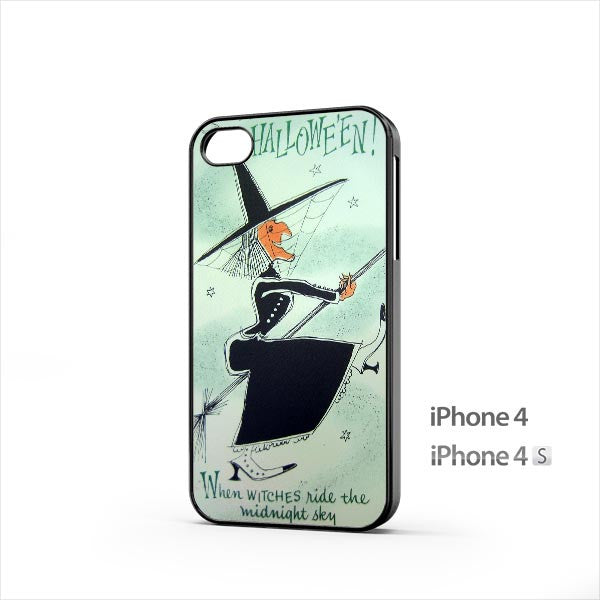 Halloween Witch iPhone 4 / 4s Case