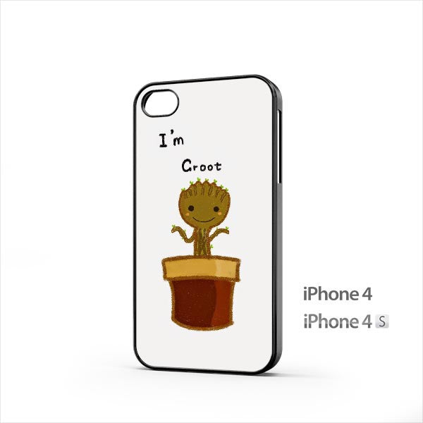 Groot Baby Flower iPhone 4 / 4s Case