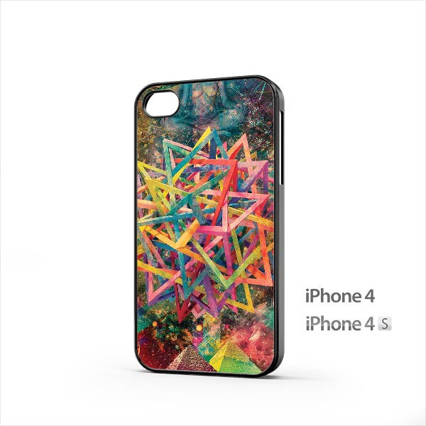 Abstract Psychedelic iPhone 4 / 4s Case