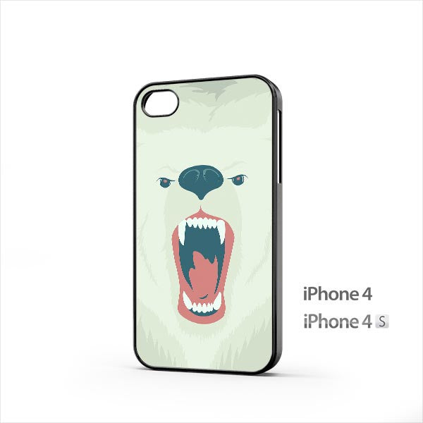 Angry Bear iPhone 4 / 4s Case