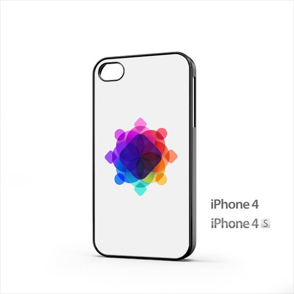 Colorful Visual Shape iPhone 4 / 4s Case