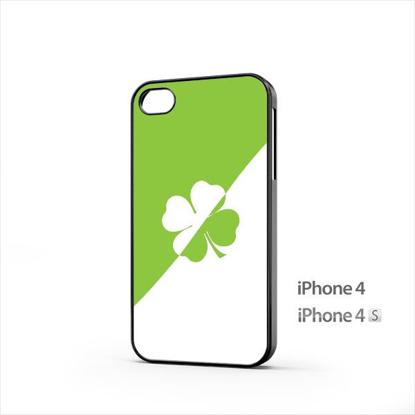 Lucky 4 Leaf Clover iPhone 4 / 4s Case