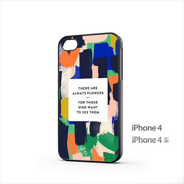 Painting Quote iPhone 4 / 4s Case