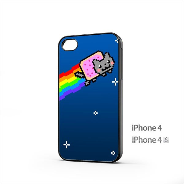 Rainbow Cat iPhone 4 / 4s Case