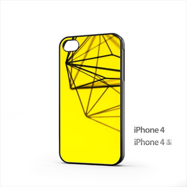Simple Deco Yellow iPhone 4 / 4s Case