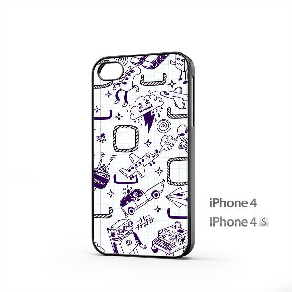 Technology Doodles iPhone 4 / 4s Case