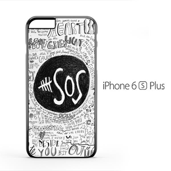5 Seconds of Summer Doodle iPhone 6s Plus Case