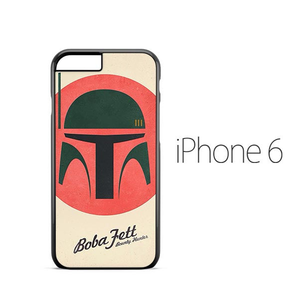 Star Wars Boba Fett Flat iPhone 6 Case
