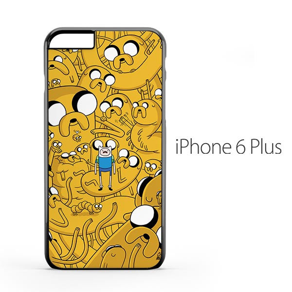 Adventure Time Dog Illusion iPhone 6 Plus Case