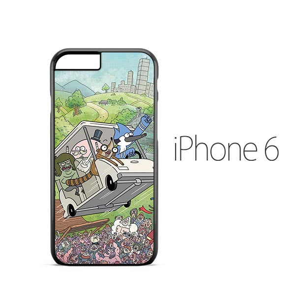 Cartoon Regular Show iPhone 6 Case