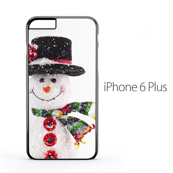 Christmas Snowman Doll iPhone 6 Plus Case