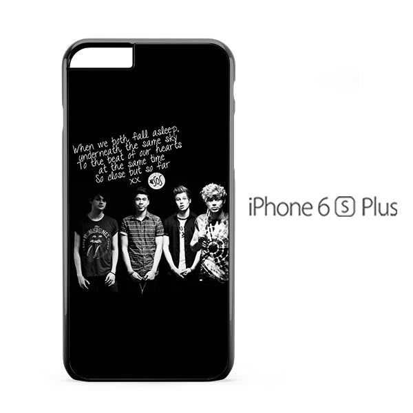 5 Second To Summer Photo Lyric iPhone 6s Plus Case