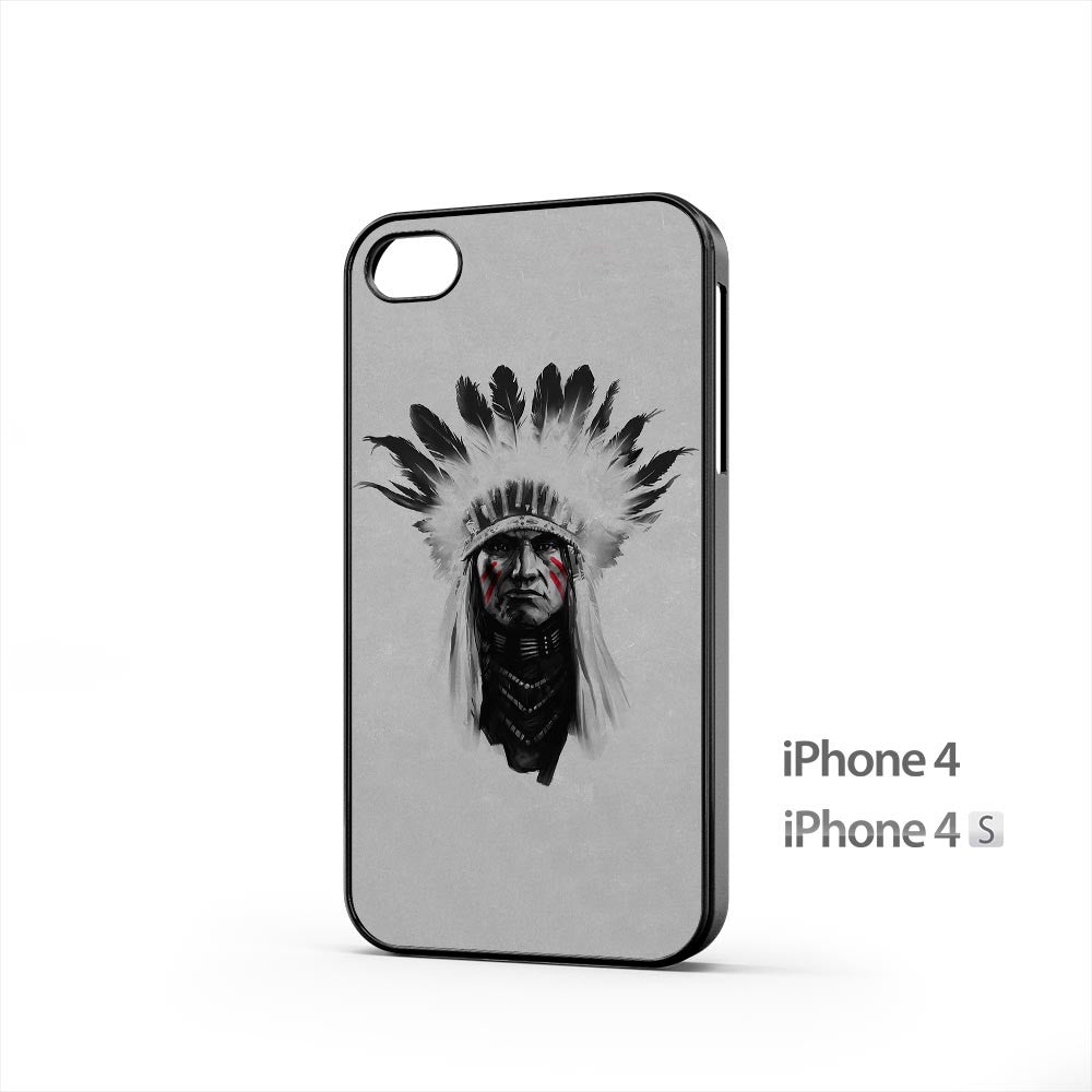 Indian Chief iPhone 4 / 4s Case