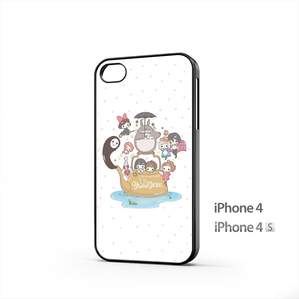 I Love Studio Gibli iPhone 4 / 4s Case
