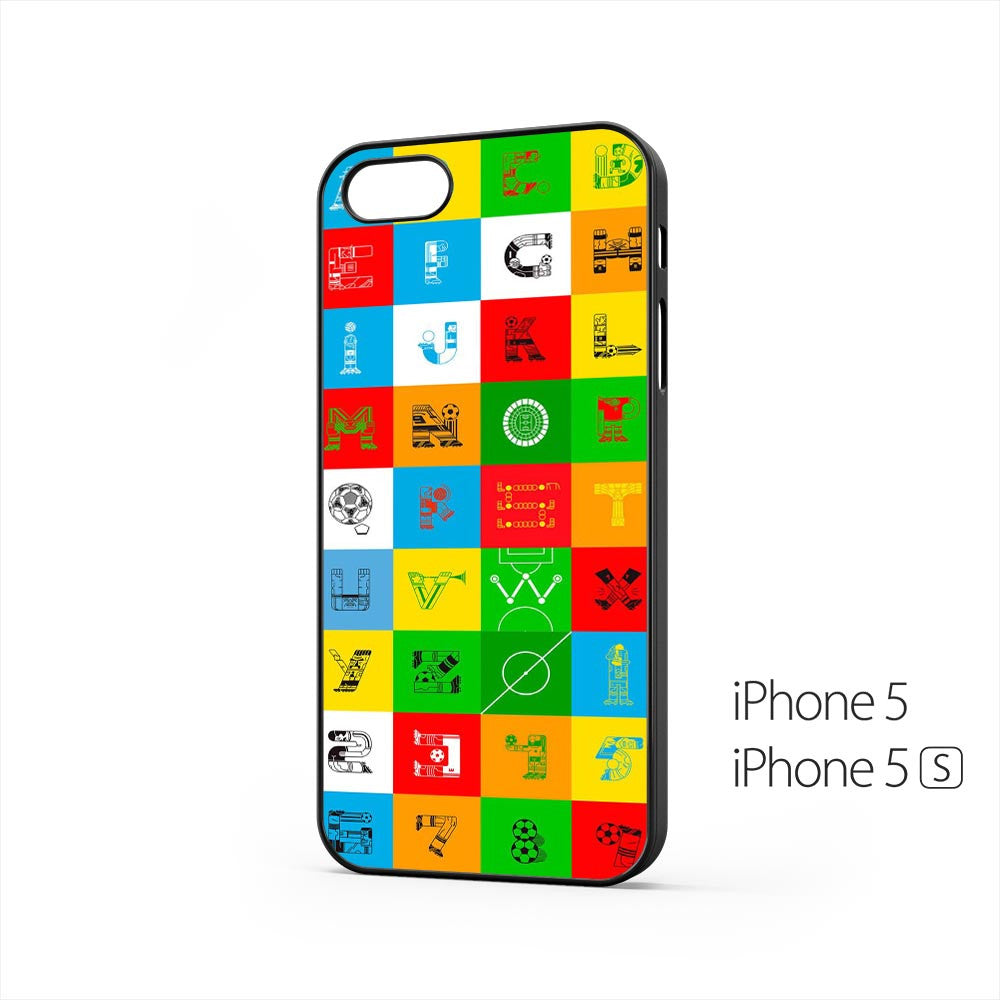Football Theme Alphabet iPhone 5 / 5s Case