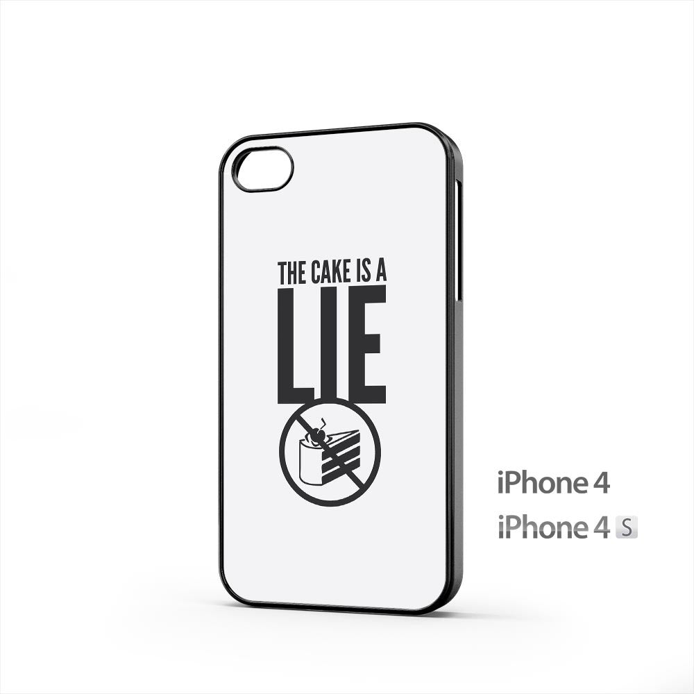 The Cake Is A Lie iPhone 4 / 4s Case