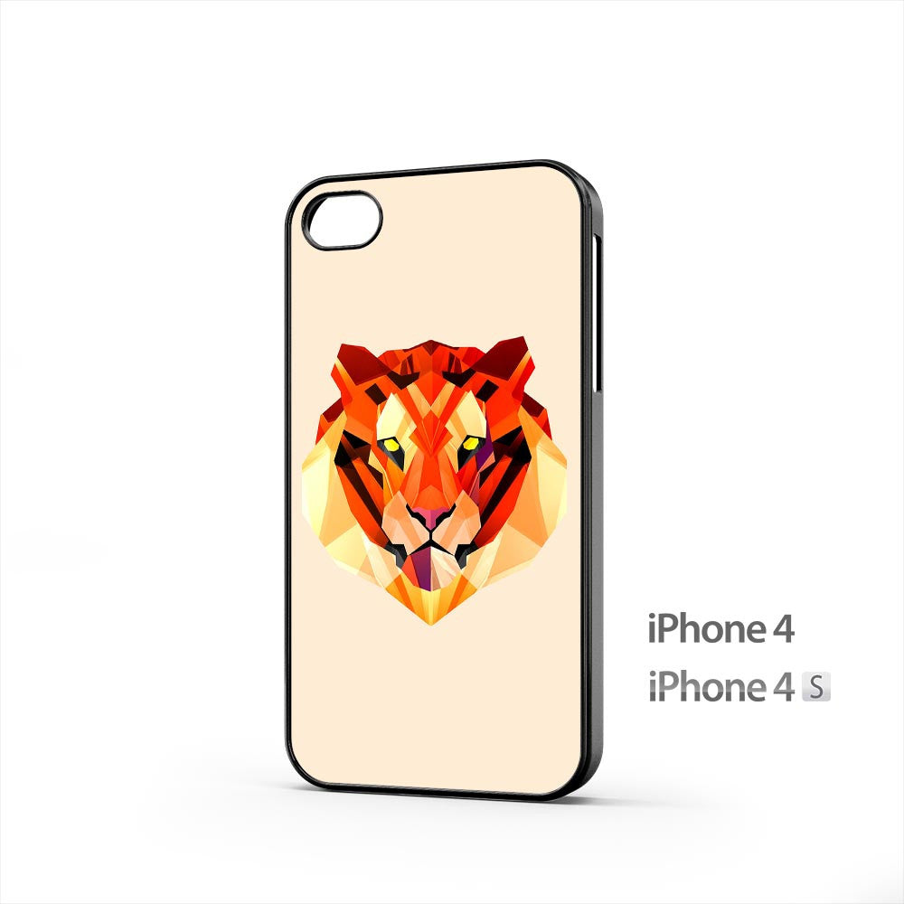 Tiger Head Illustration iPhone 4 / 4s Case