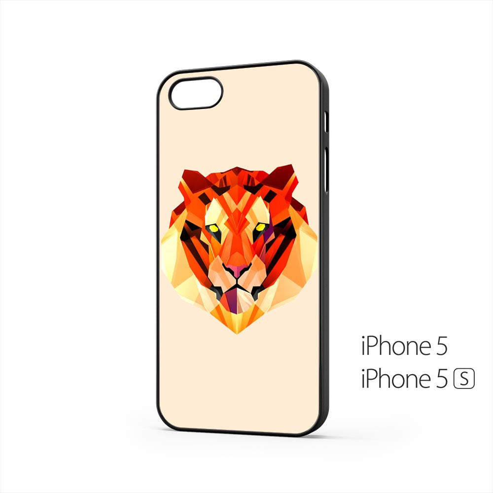 Tiger Head Illustration iPhone 5 / 5s Case