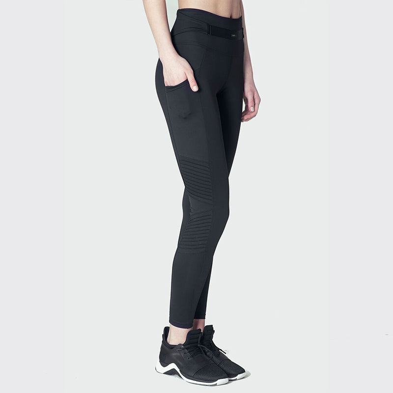 Jetsetter Moto Leggings-Black