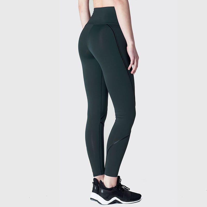 Contour Leggings-Forest