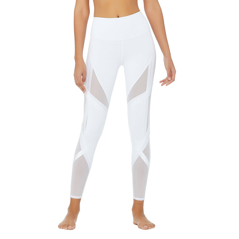 High-Waist Bandage Legging-White