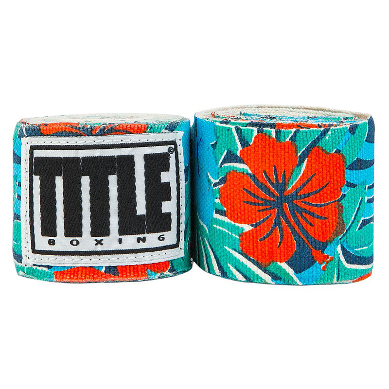 "Title Print Mexican Style 180"" Handwraps-Hawaiin Print"