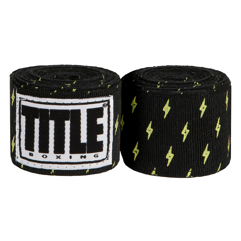 "Title Print Mexican Style 180"""" Handwraps-Lightning"