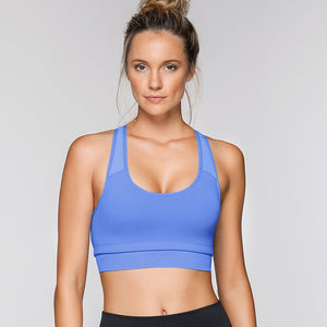 Confidence Sports Bra-Blue