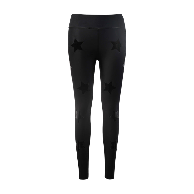 Ultra High Lux Knockout Legging-Nero-Patent Nero