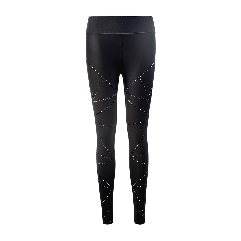 Ultra High Silk Vertex Pixelate Legging-Nero