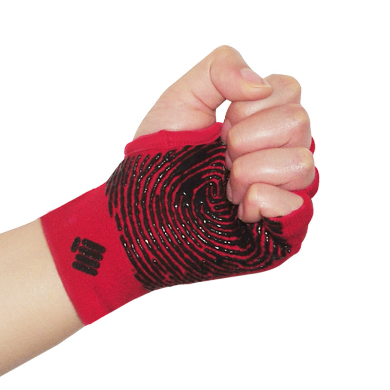 Staple Gloves-Red-Black