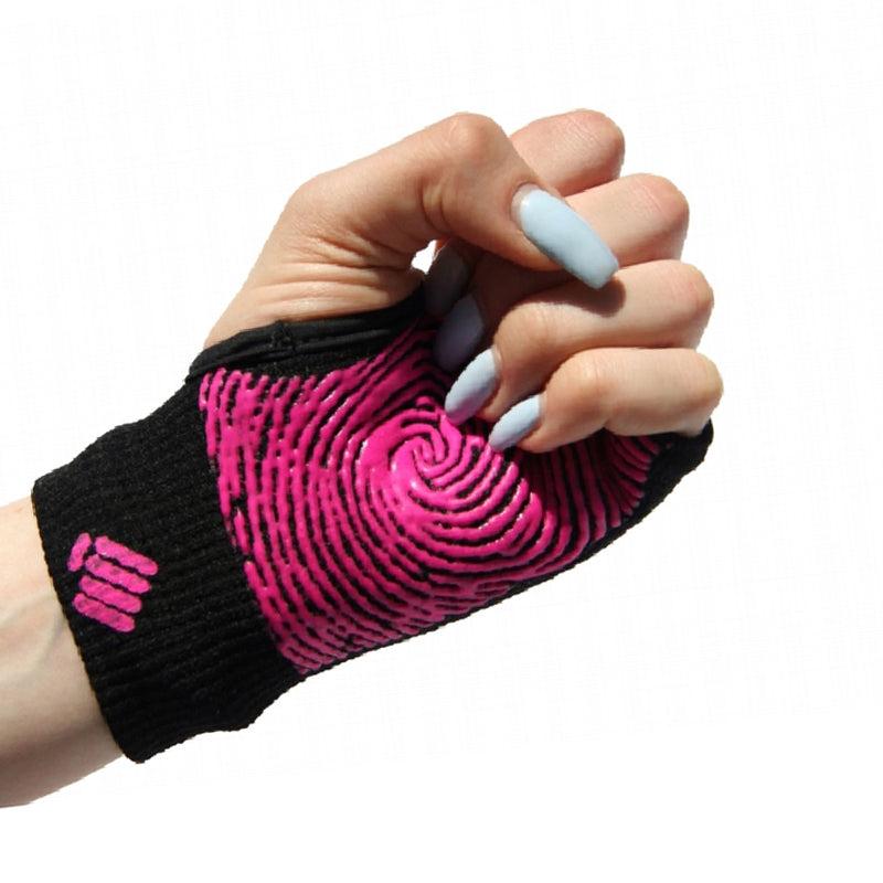 Staple Gloves-Black-Pink