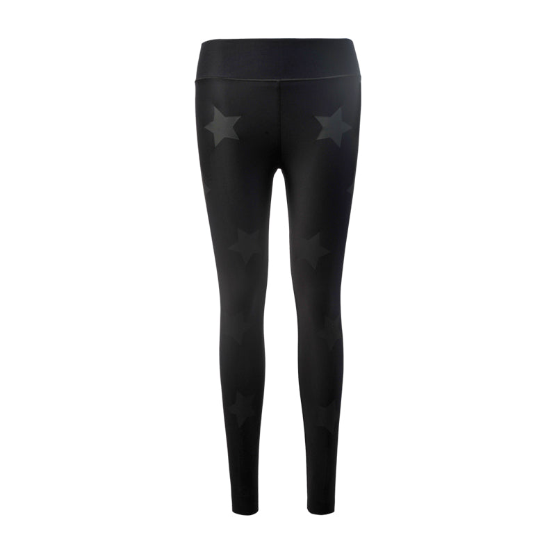 Ultra High Lux Knockout Legging-Nero-Matte Nero