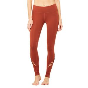 Entwine Legging-Red