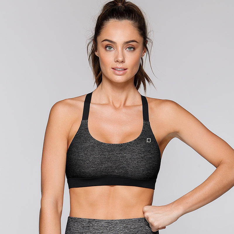 Layla Sports Bra-Black