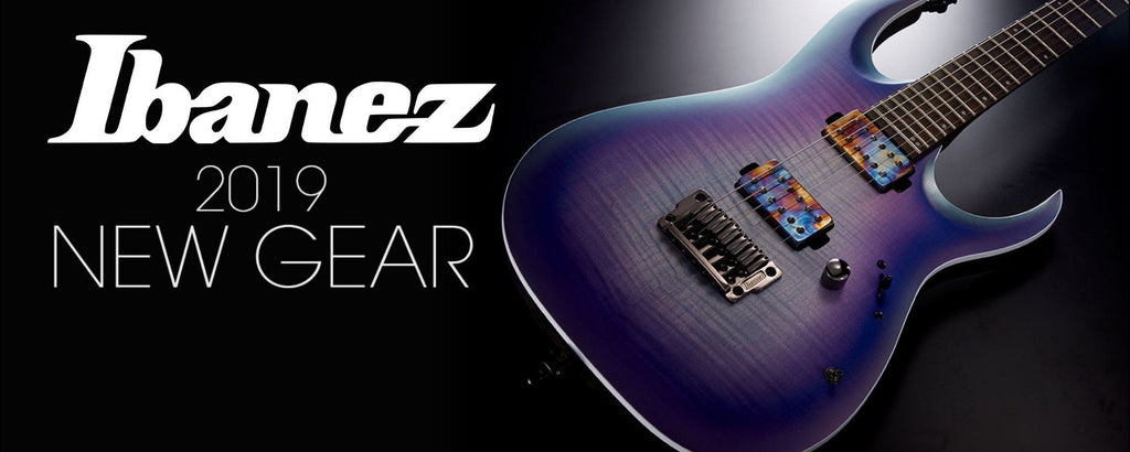 Ibanez Product Launch 2019 - Electric Guitars